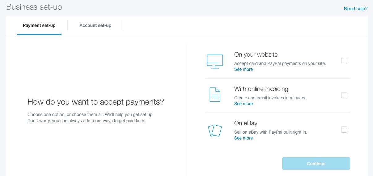 PayPal Express Settings – SHOPLINE FAQ